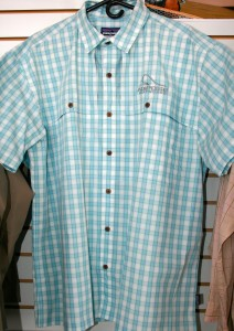 Fishing Shirt, blue short-sleeve